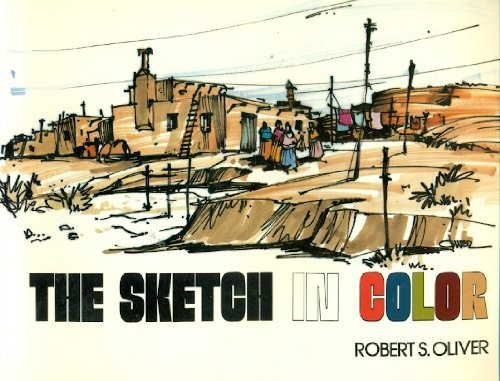 9780442272043: The Sketch in Color (Architecture)