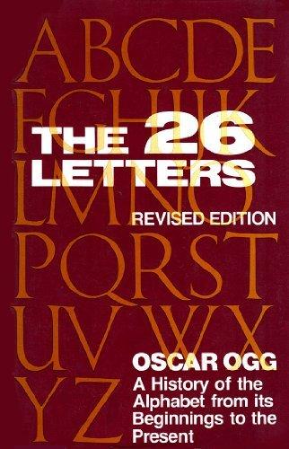 The Twenty-Six Letters: Ogg, Oscar