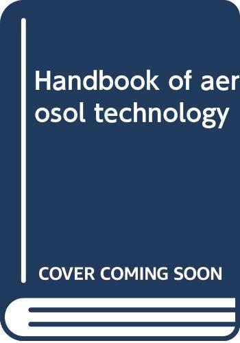 9780442273484: Handbook of aerosol technology