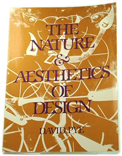 9780442273798: The Nature and Aesthetics of Design