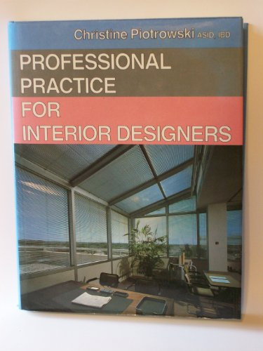9780442275198: Professional Practice for Interior Designers