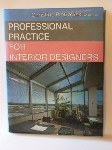 9780442275198: Professional Practice for Interior Designers