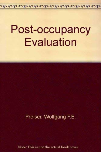 9780442276058: Post Occupancy Evaluation