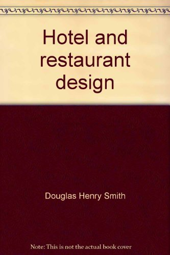 9780442277956: Hotel and restaurant design