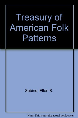 9780442277987: Treasury of American Folk Patterns
