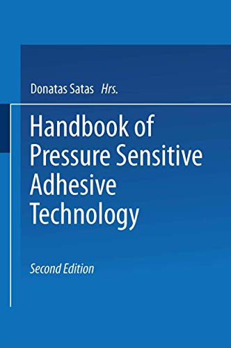 9780442280260: Handbook of Pressure Sensitive Adhesive Technology