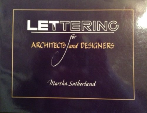 9780442281816: Lettering for Architects and Designers