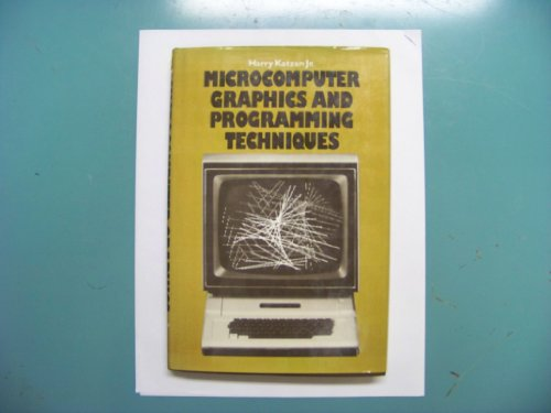 9780442284190: Microcomputer Graphics and Programming Techniques