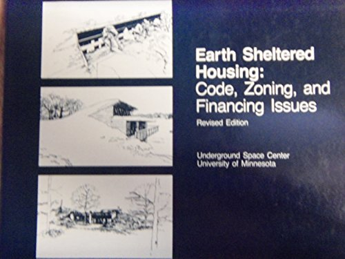 9780442286880: Earth Sheltered Housing: Code, Zoning and Financing Issues
