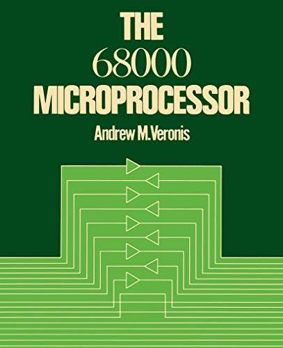 9780442288426: The 68000 Microprocessor