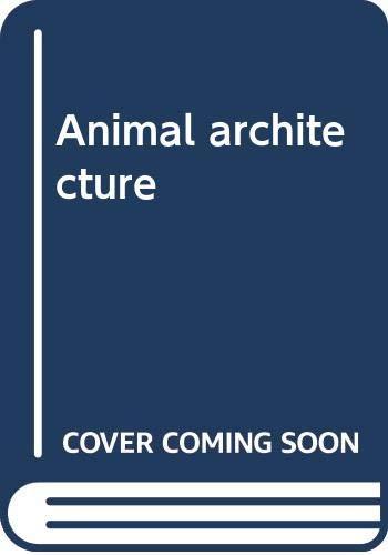9780442290573: Animal architecture