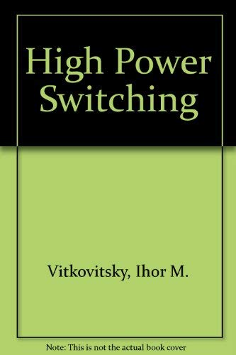 9780442290672: High Power Switching