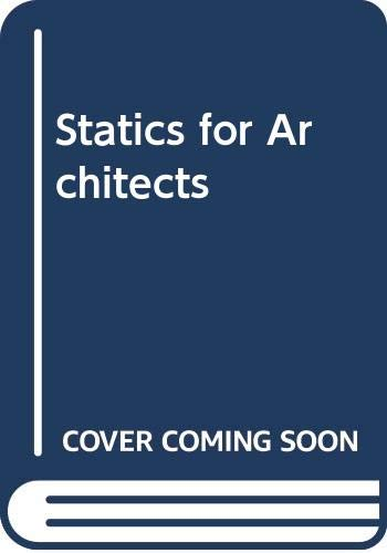 9780442291112: Statics for architects