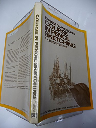9780442292294: Course in Pencil Sketching: Bks. 1-4 in 1v