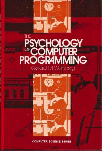9780442292645: Psychology of Computer Programming