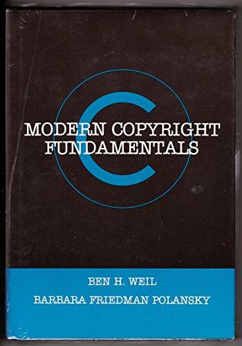 9780442293291: Modern Copyright Fundamentals