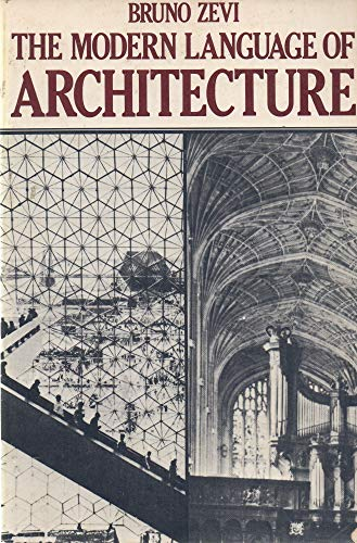 9780442293871: The modern language of architecture