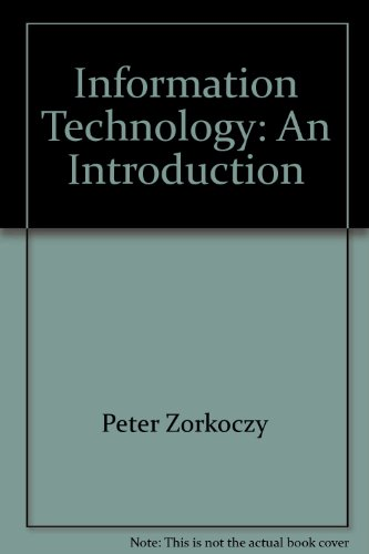 9780442293918: Information technology: An introduction (Communications library) [Taschenbuch...