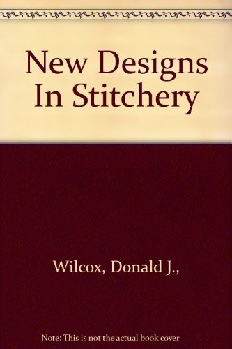 9780442294731: New design in stitchery