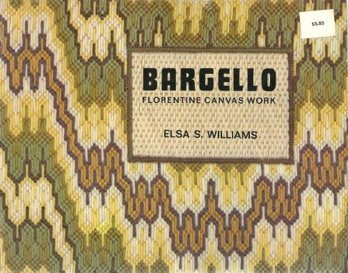 9780442294816: Bargello Embroidery: Florentine Canvas Work
