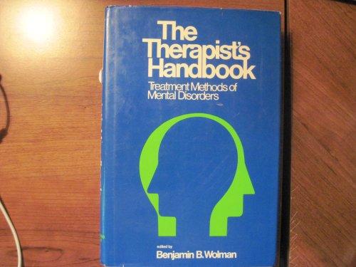 Therapist's Handbook: Wolman, Benjamin B.