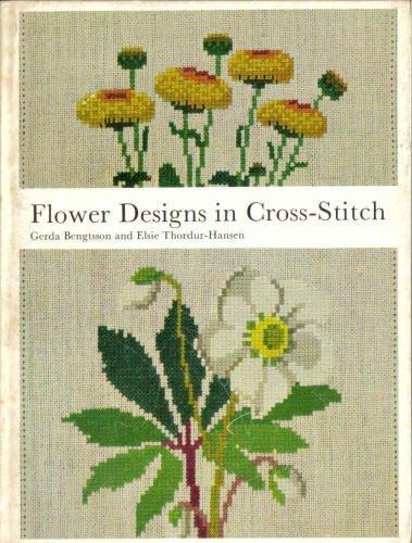 9780442299880: Flower Design in Cross Stitch