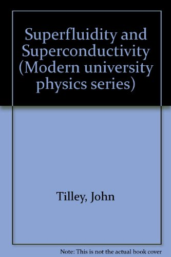 9780442300166: Superfluidity and Superconductivity