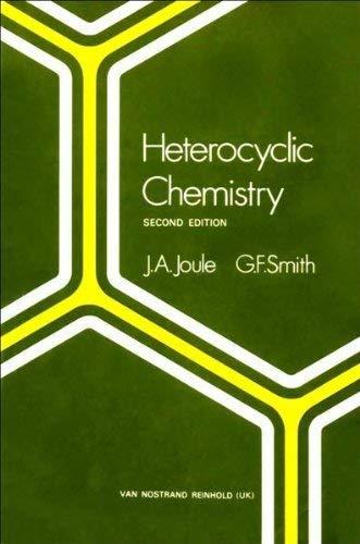 Heterocyclic Chemistry: J.A. Joule &