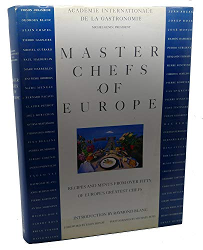 9780442302795: Master Chefs of Europe