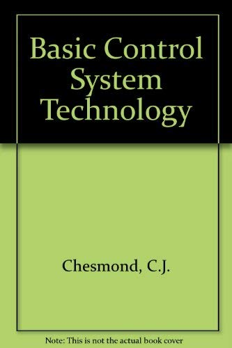9780442303860: Basic Control System Technology