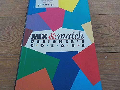 Mix and Match Designer's Colors: Bann, David