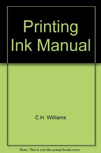 Printing Ink Manual: Unnamed