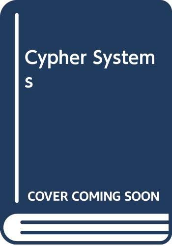 9780442306076: Cypher Systems