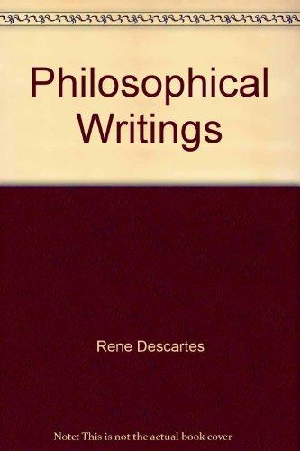 9780442306809: Philosophical Writings
