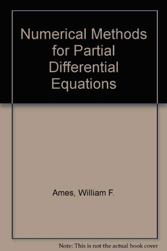 9780442307370: Numerical Methods for Partial Differential Equations