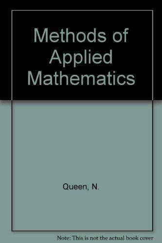 9780442307493: Methods of Applied Mathematics
