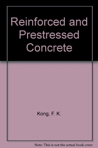 9780442307516: Reinforced and Prestressed Concrete