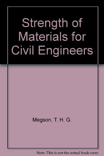 9780442307554: Strength of Materials for Civil Engineers