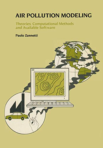 9780442308056: Air Pollution Modeling: Theories, Computational Methods and Available Software