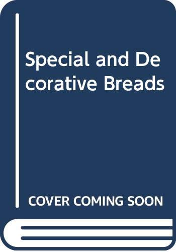 9780442308292: Special and Decorative Breads