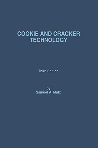 9780442308926: Cookie and Cracker Technology, 3rd Edition
