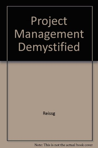 9780442314934: Project Management Demystified