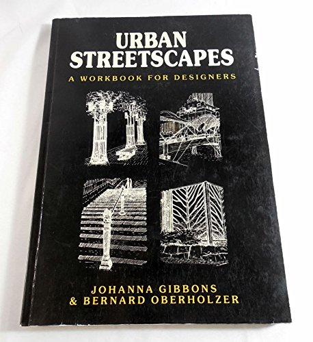 9780442315290: Urban Streetscapes: A Workbook for Designers