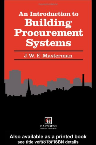 9780442315863: An Introduction to Building Procurement Systems