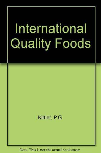 9780442318628: International Quantity Foods