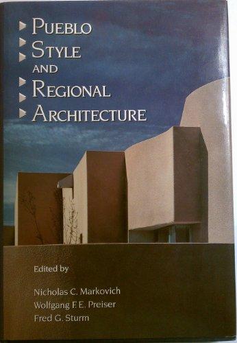 9780442318963: Pueblo Style and Regional Architecture
