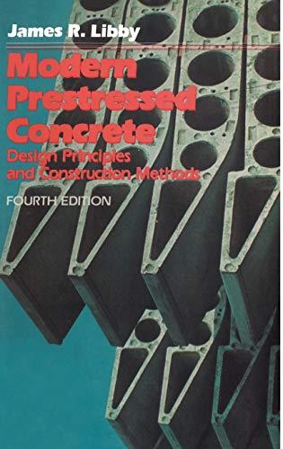 9780442319236: Modern Prestressed Concrete: Design Principles and Construction Methods