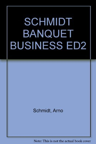 9780442319281: Banquet Business