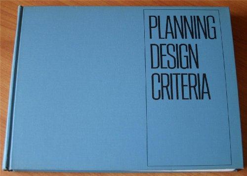 Planning Design Criteria: De Chiara, Joseph;