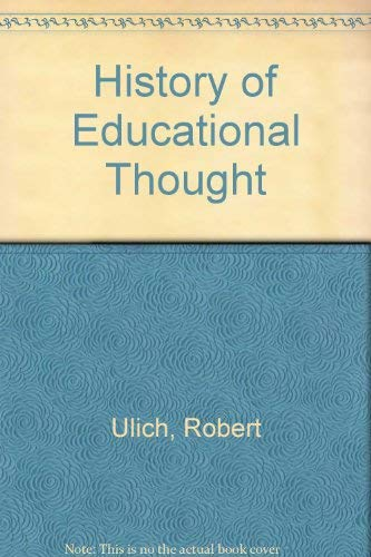 9780442359010: History of Educational Thought